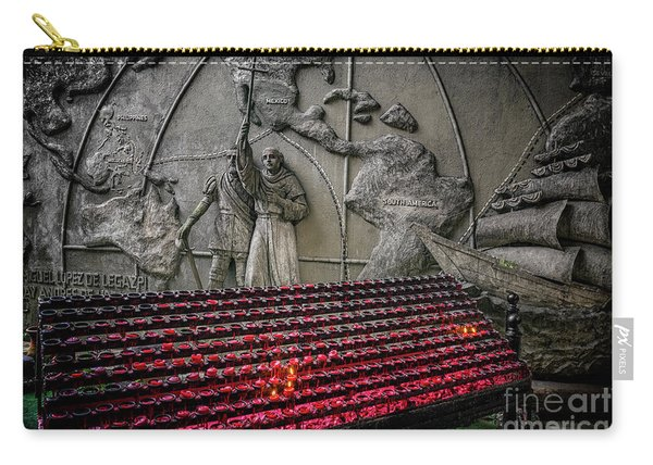 Santo Nino Candles Carry-all Pouch