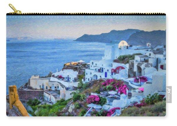 Santorini Greece Dwp416136  Carry-all Pouch