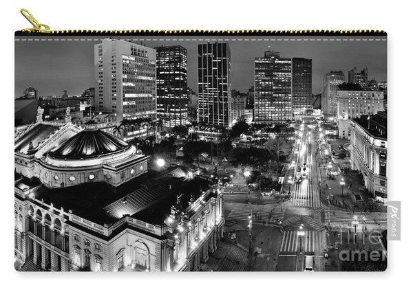 Sao Paulo Downtown - Viaduto Do Cha And Around Carry-all Pouch