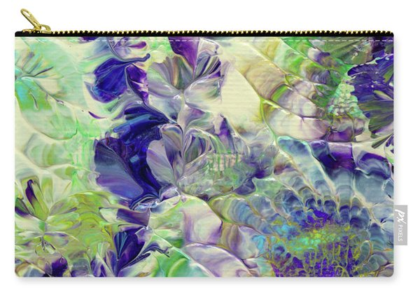 Sapphire Violet Carry-all Pouch