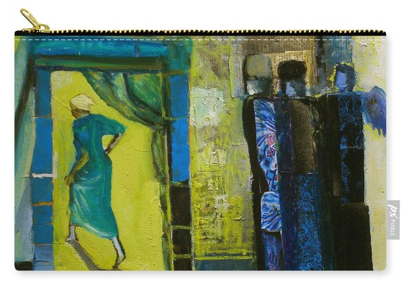 Sarah And The Three Angels Carry-all Pouch