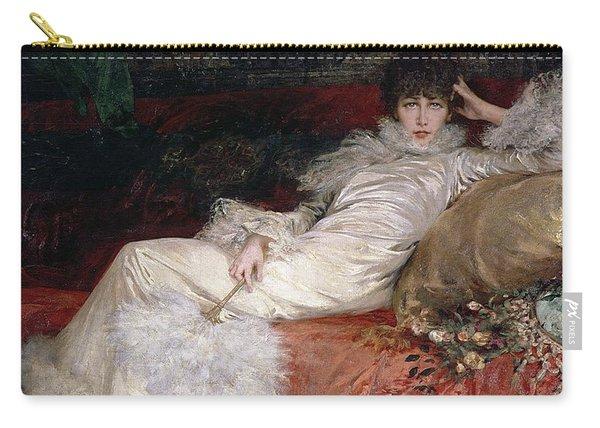Sarah Bernhardt Carry-all Pouch