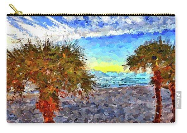Sarasota Beach Florida Carry-all Pouch