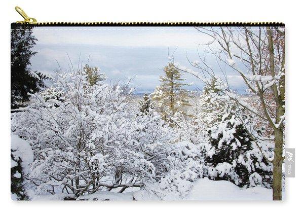 Saratoga Winter Scene Carry-all Pouch