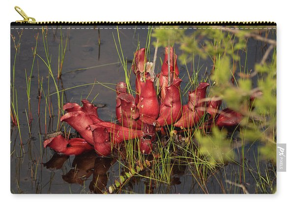 Sarracenia Bug Bat Plant Carry-all Pouch