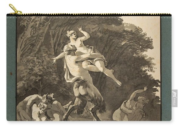Satyrs Abducting Nymphs Carry-all Pouch