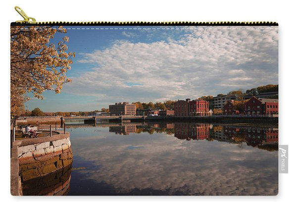 Carry-all Pouch featuring the photograph Saugatuck River - Westport by Michael Hope