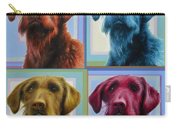 Savannah The Labradoodle Carry-all Pouch