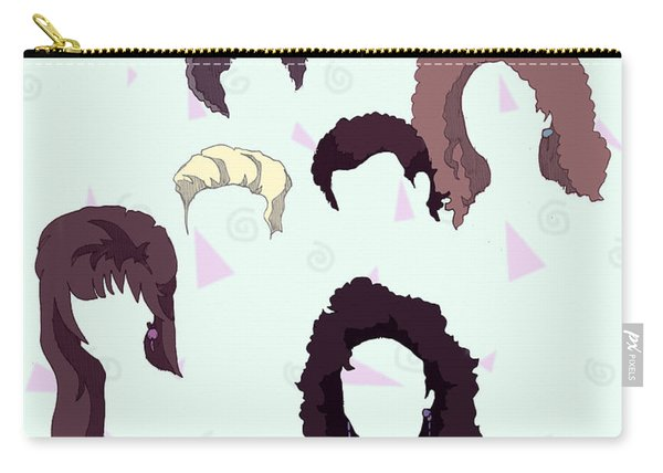 Saved By The Hair Carry-all Pouch