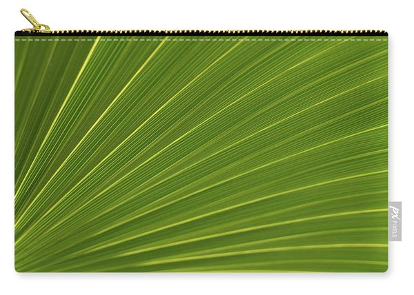 Saw Palmetto Detail Delray Beach Florida Carry-all Pouch