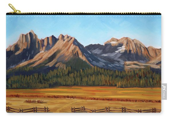 Sawtooth Mountains - Iron Creek Carry-all Pouch