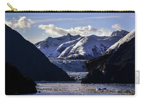 Sawyer Glacier In Tracy Arm Fjord Carry-all Pouch