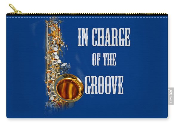Saxophones In Charge Of The Groove 5531.02 Carry-all Pouch