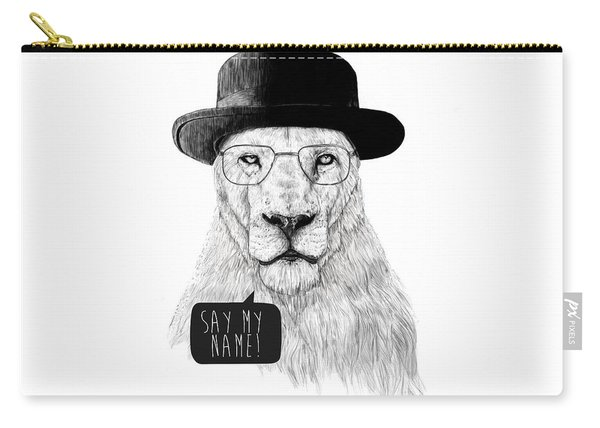 Say My Name Carry-all Pouch