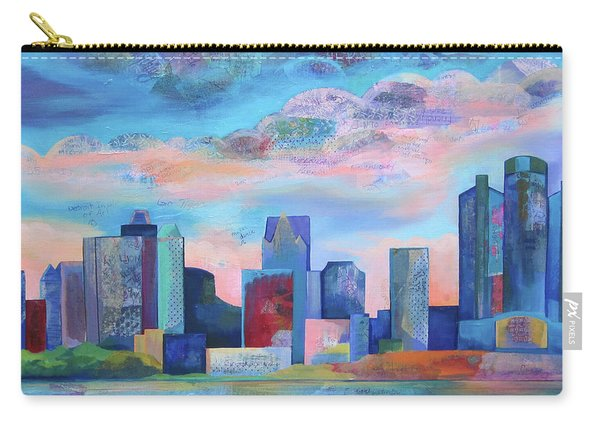 Say Nice Things About Detroit Carry-all Pouch