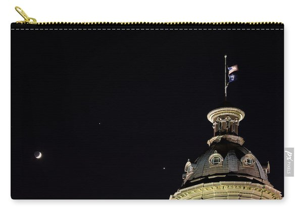 Sc State House Dome And Conjunction Carry-all Pouch