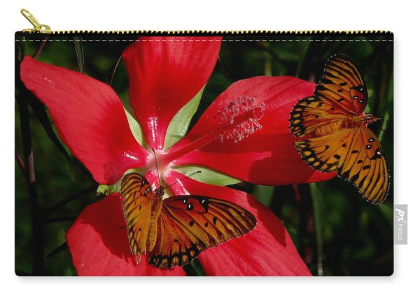 Scarlet Beauty Carry-all Pouch