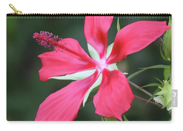 Scarlet Hibiscus #4 Carry-all Pouch