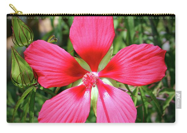Scarlet Swamp Hibiscus  Carry-all Pouch