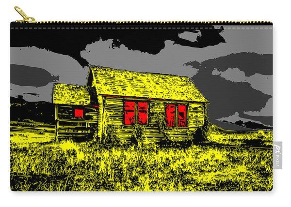 Scary Farmhouse Carry-all Pouch