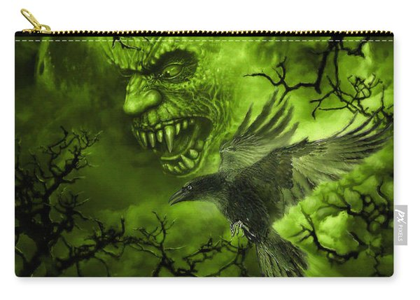 Scary Moon Carry-all Pouch