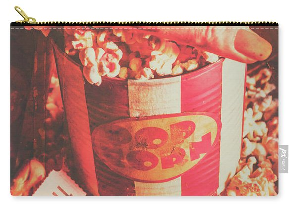 Scary Vintage B-grade Horror Movies Carry-all Pouch