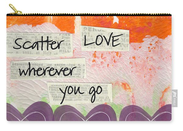Scatter Love Carry-all Pouch