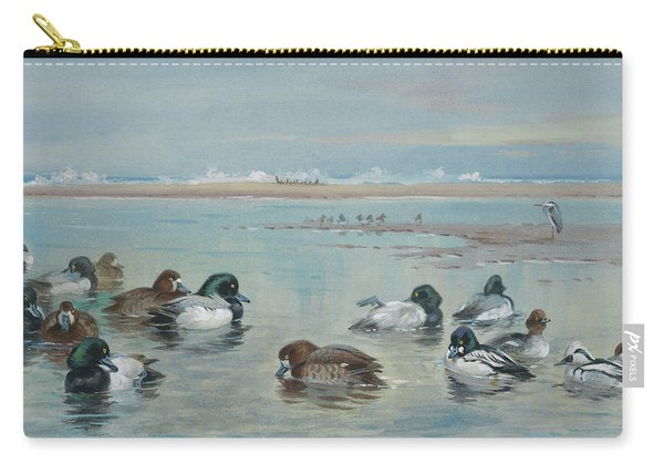 Scaup, Golden Eye And Smew Carry-all Pouch