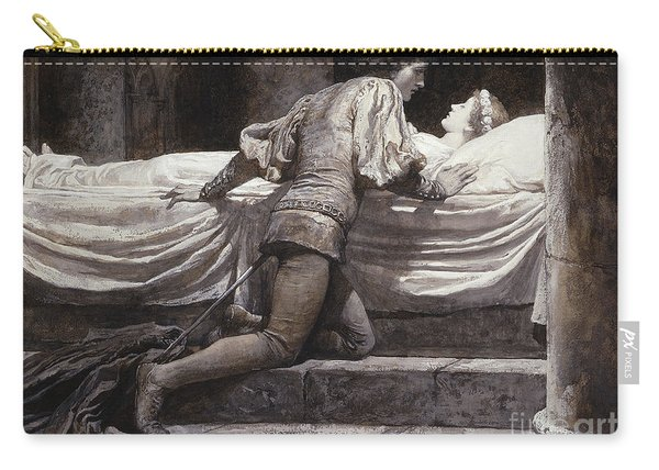 Scene From Romeo And Juliet - The Tomb  Carry-all Pouch