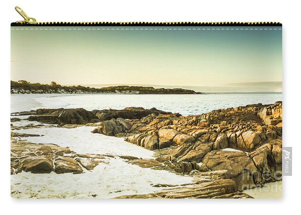 Scenic Coastal Dusk Carry-all Pouch