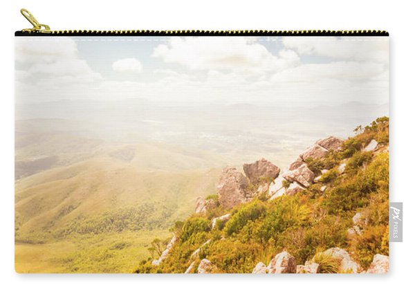 Scenic Mountain Peak Carry-all Pouch