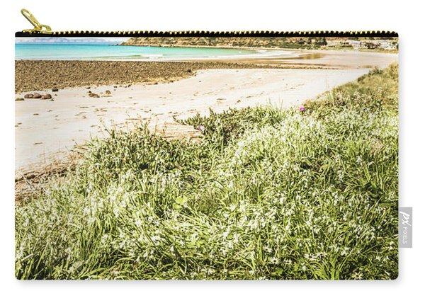 Scenic Stony Seashore Carry-all Pouch