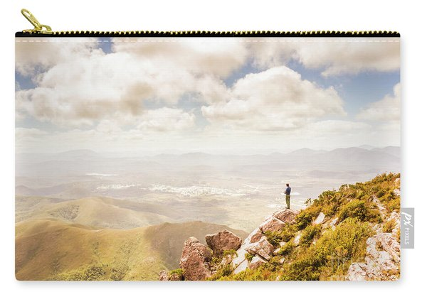Scenic View Of Mt Zeehan, Tasmania, Australia Carry-all Pouch