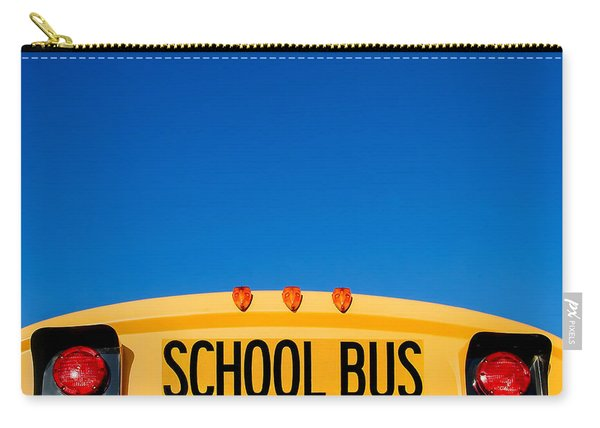 School Bus Top Carry-all Pouch