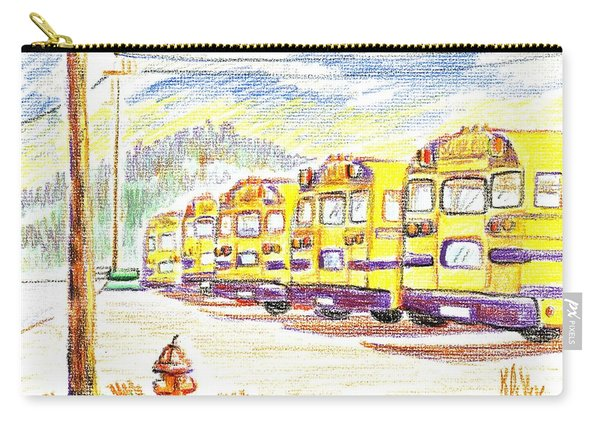 School Bussiness Carry-all Pouch
