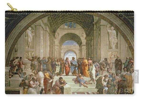School Of Athens From The Stanza Della Segnatura Carry-all Pouch