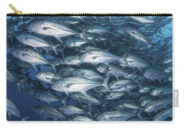 Schooling Bigeye Jacks Swim Carry-all Pouch