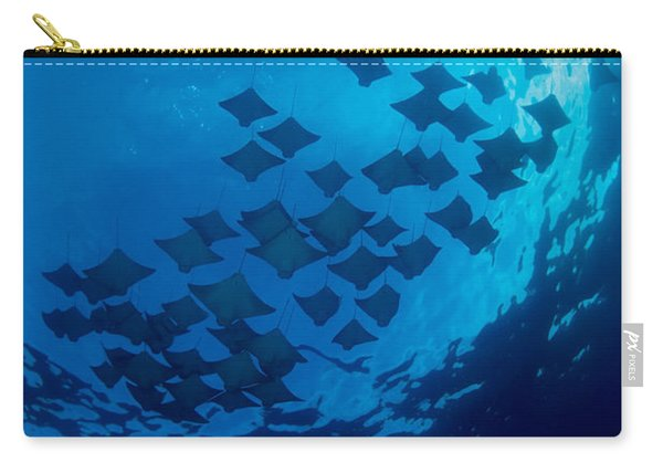 Schooling Cownose Rays Carry-all Pouch