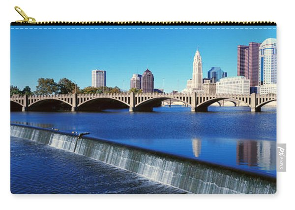 Scioto River With Waterfall Carry-all Pouch