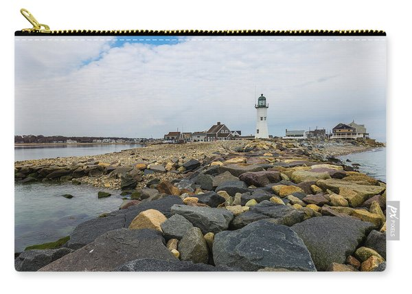 Scituate Lighthouse And Cedar Point Carry-all Pouch