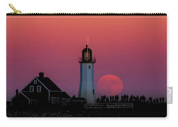 Scituate Supermoon Carry-all Pouch