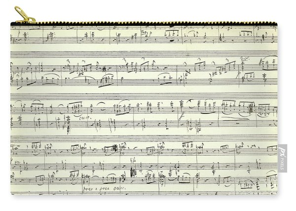 Score For The Opening Of Swan Lake By Tchaikovsky Carry-all Pouch