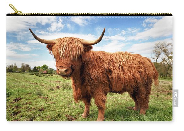 Scottish Highland Cow - Trossachs Carry-all Pouch