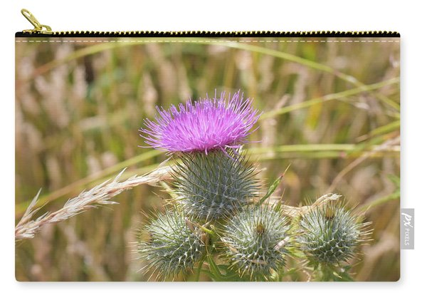 Scottish Thistle Carry-all Pouch
