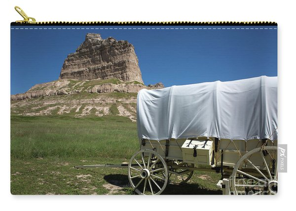 Scotts Bluff National Monument Nebraska Carry-all Pouch