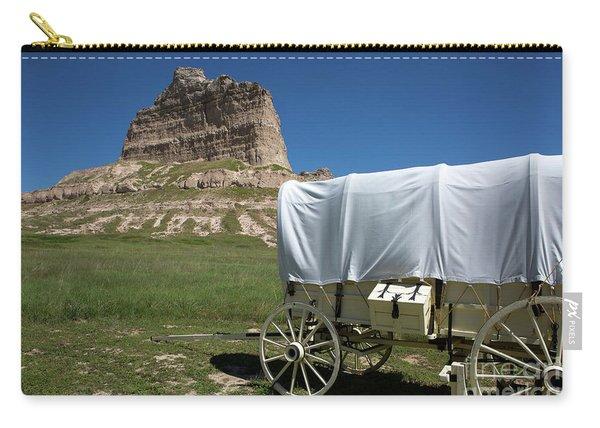 Scotts Bluff National Monument Nebraska Carry-all Pouch