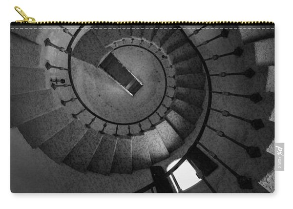 Scottys Castle Stairwell B W Carry-all Pouch