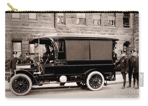 Scranton Pennsylvania  Bureau Of Police  Paddy Wagon  Early 1900s Carry-all Pouch