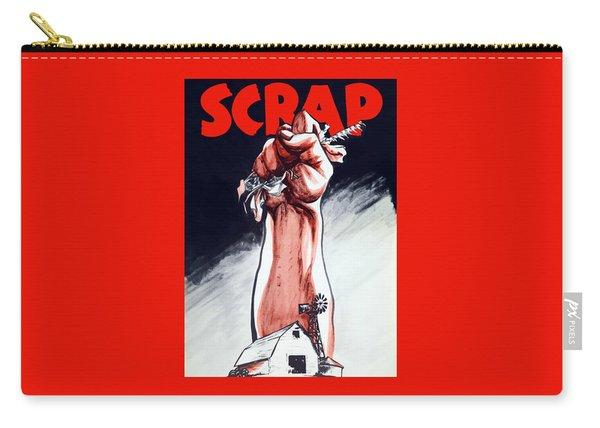 Scrap - Ww2 Propaganda Carry-all Pouch