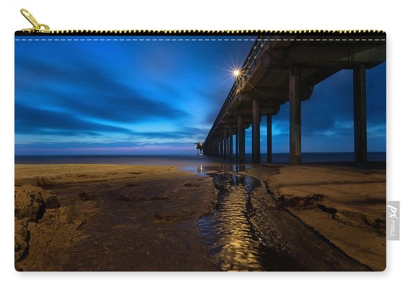 Scripps Pier Blue Hour Carry-all Pouch
